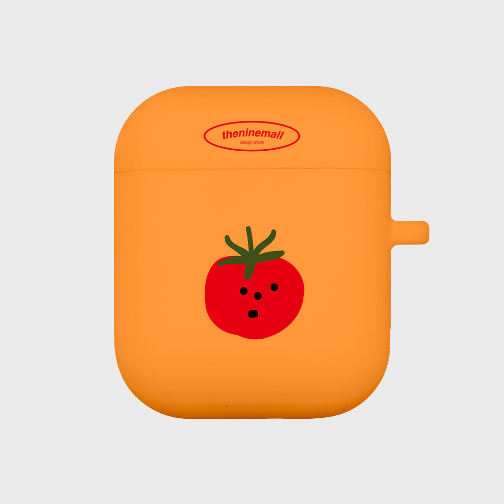 refreshing tomato [Airpods case][orange]