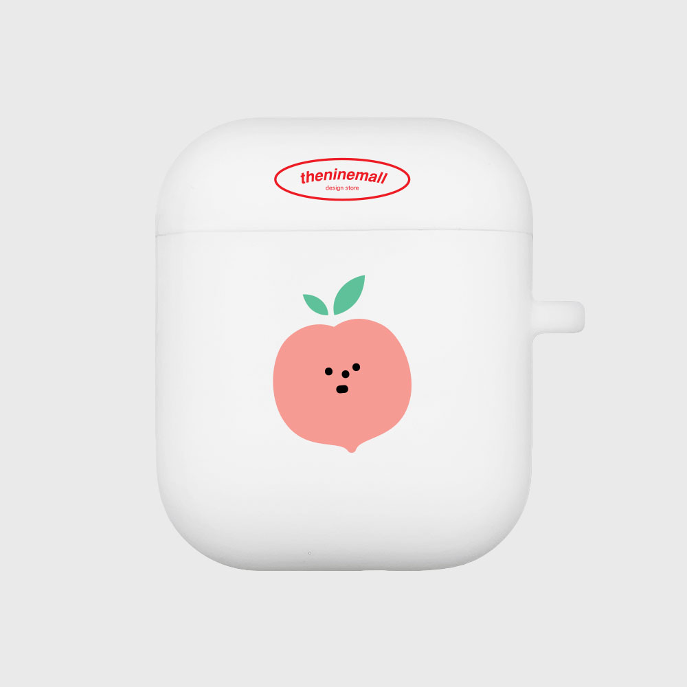 refreshing peach [Airpods case][white]