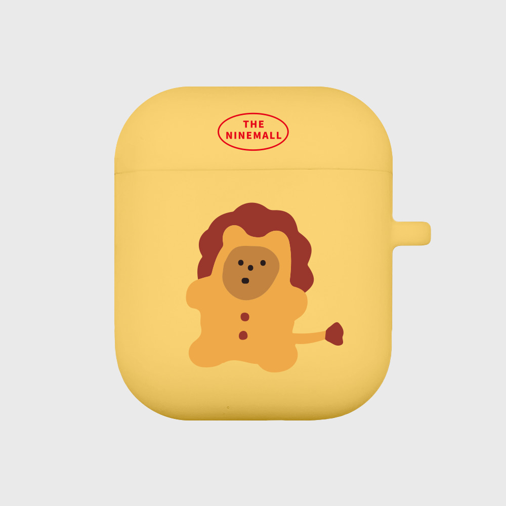 lion gummy [airpods jellycase][yellow]