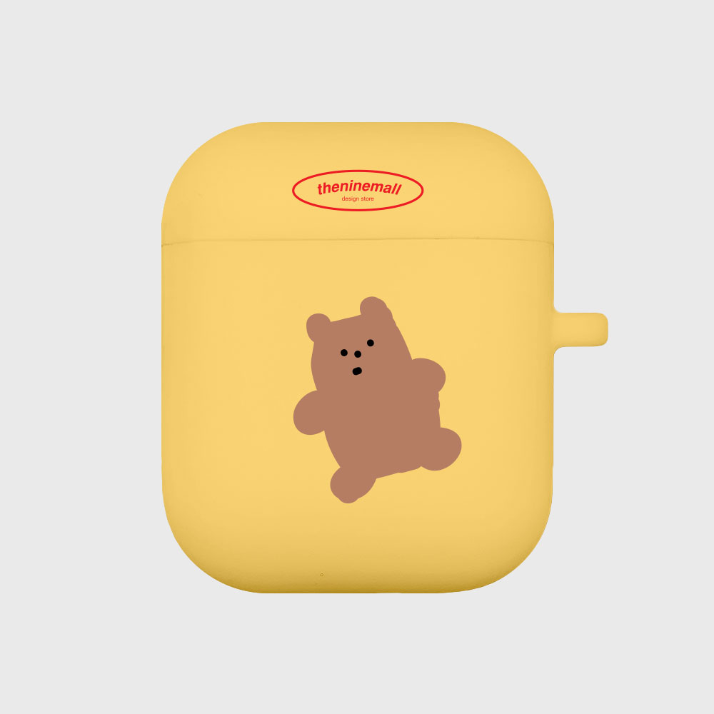 gummy 브라운 [Airpods case][yellow]