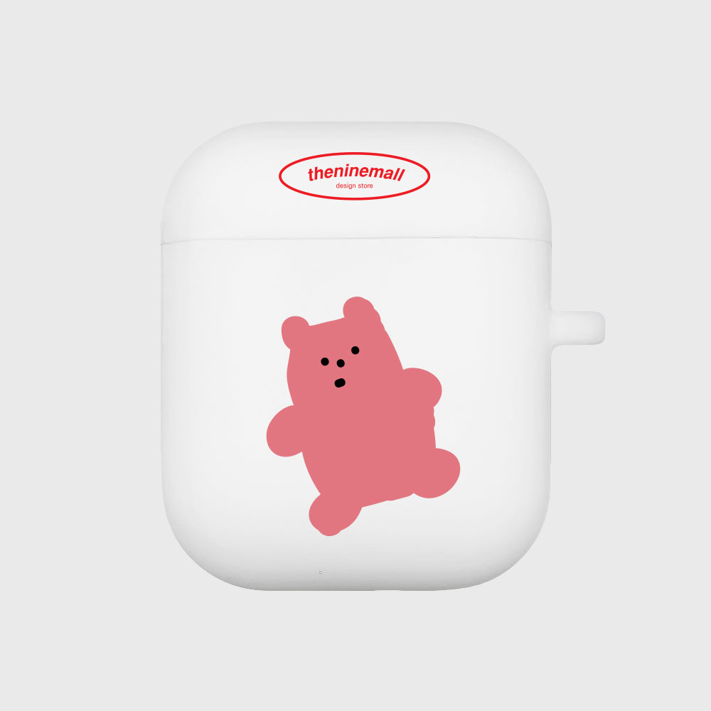 gummy 핑크 [Airpods case][white]