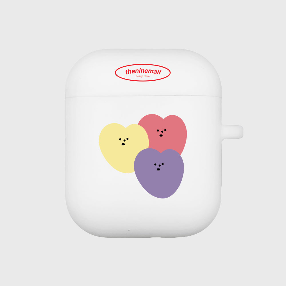 mellow heart [Airpods case][white]
