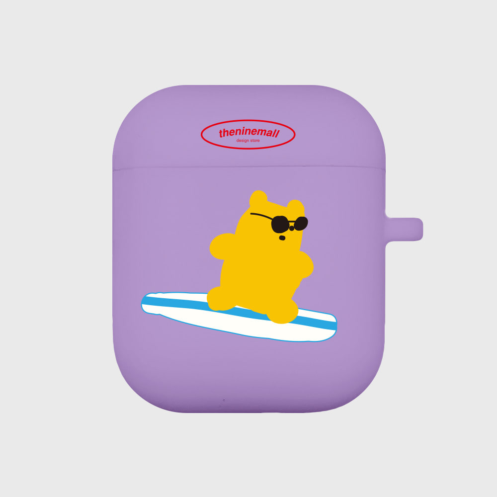 surfing gummy 옐로우 [Airpods case][purple]