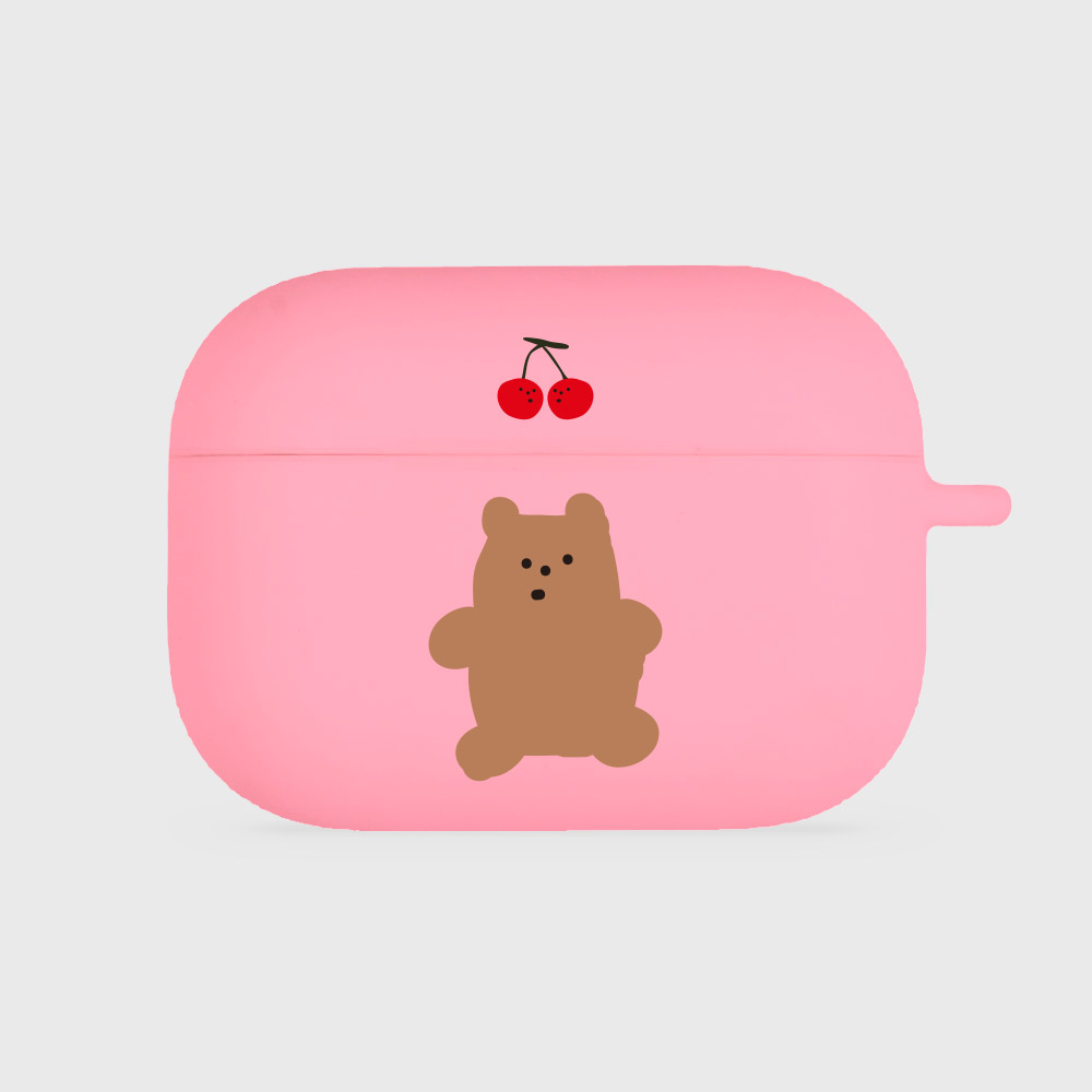 cherry gummy [airpods pro jellycase][pink]