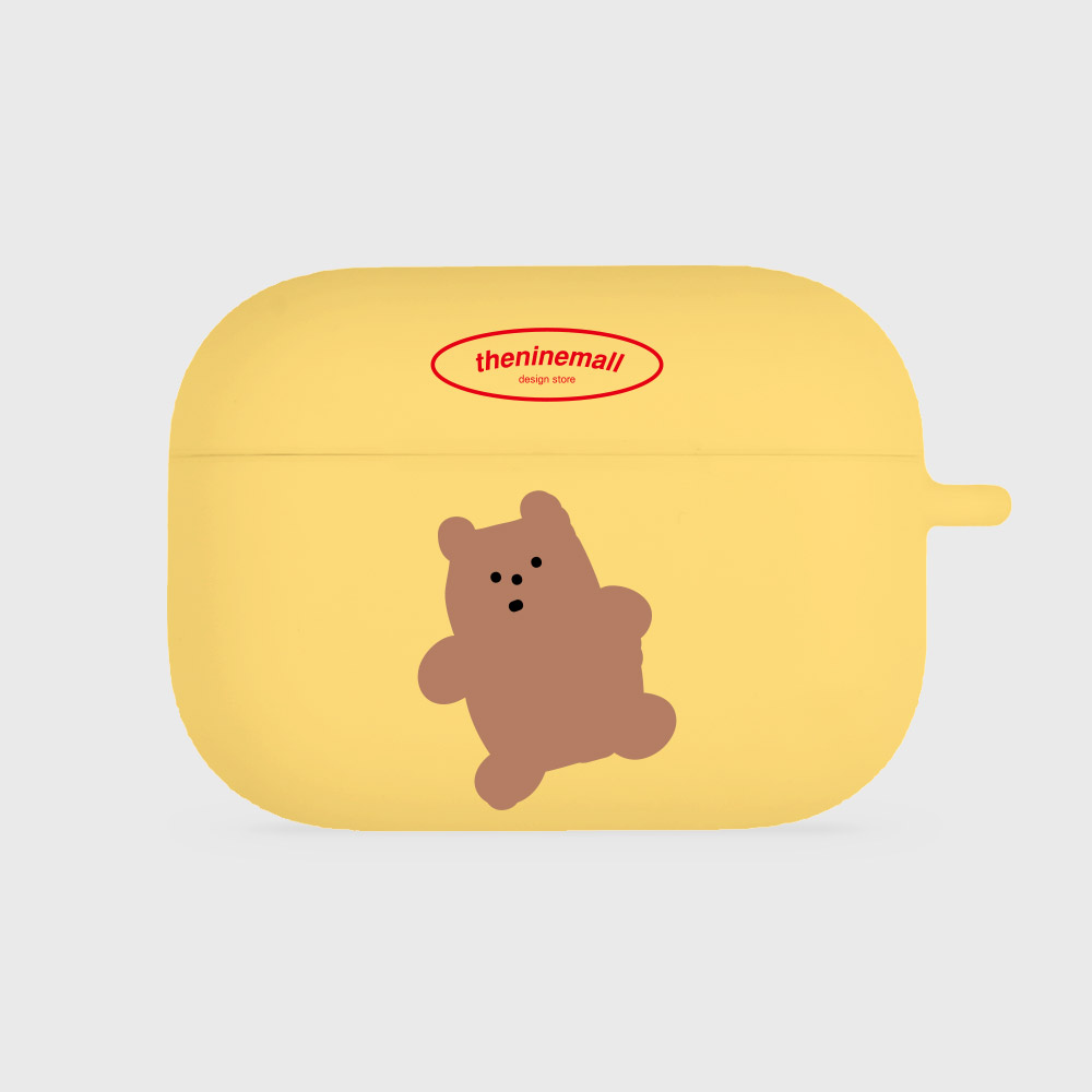 gummy 브라운 [airpods pro jellycase][yellow]