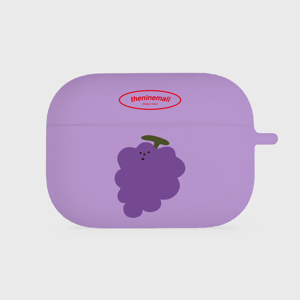 grape [airpods pro jellycase][purple]