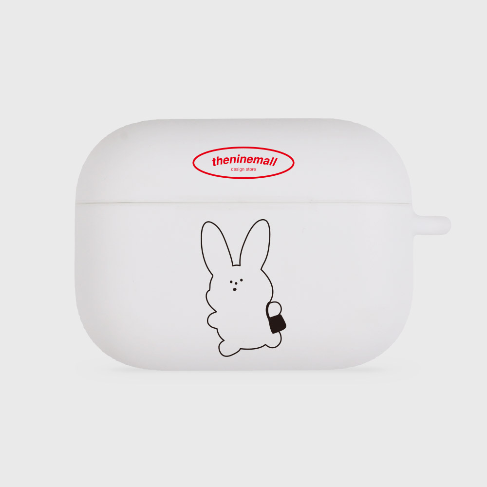 rabbit [airpods pro jellycase][white]