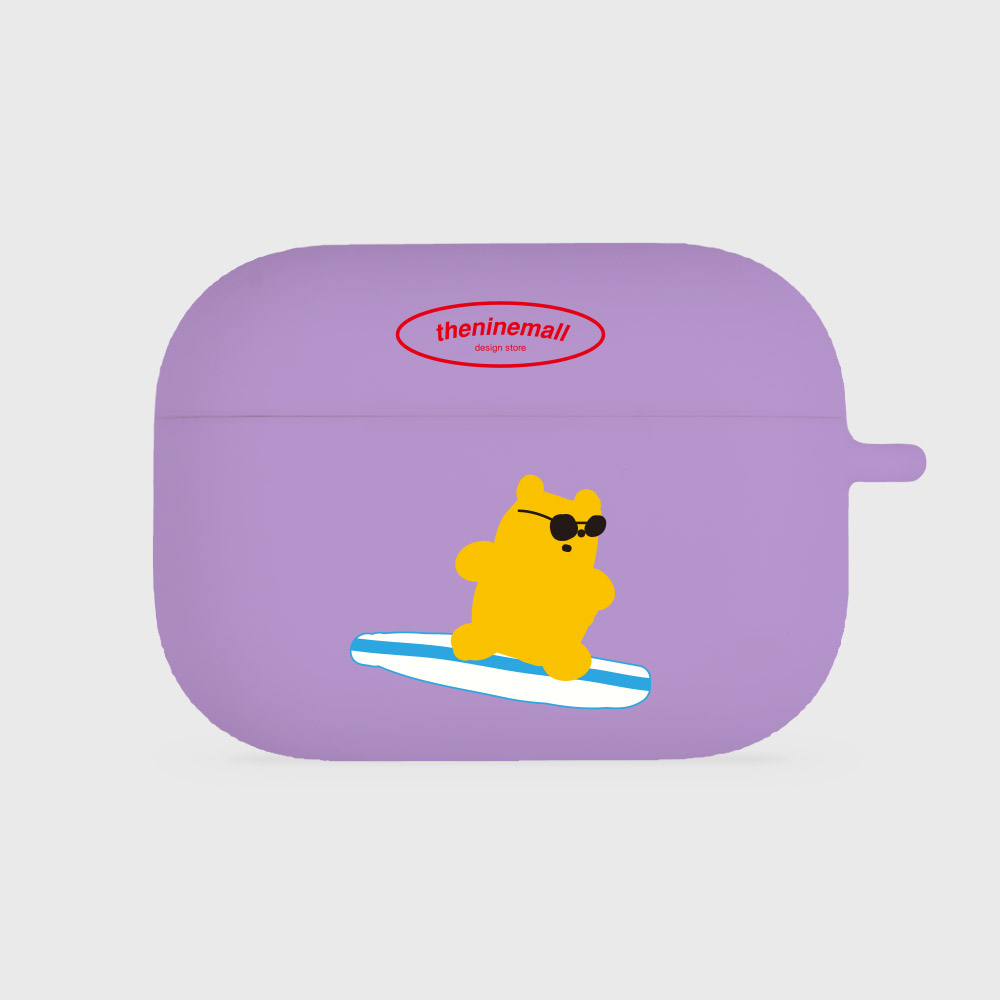 surfing gummy 옐로우 [airpods pro jellycase][purple]
