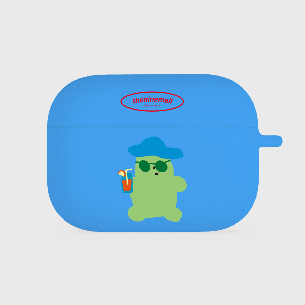 drink gummy [airpods pro jellycase][blue]