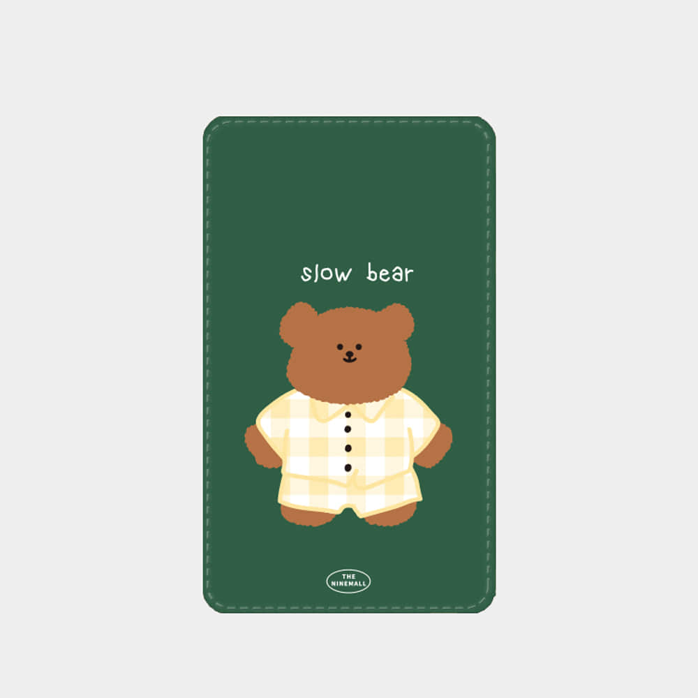 pajamas slow bear 보조배터리