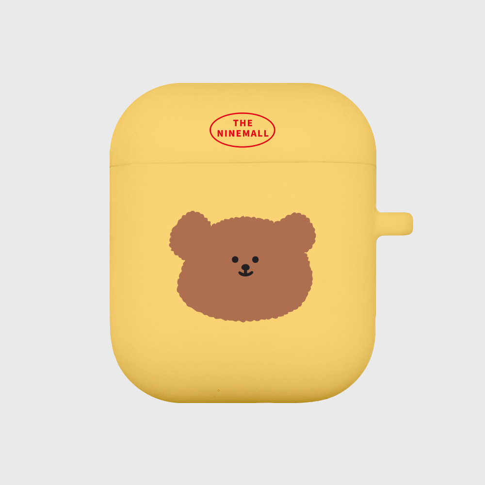 slow bear [Airpods case][yellow]