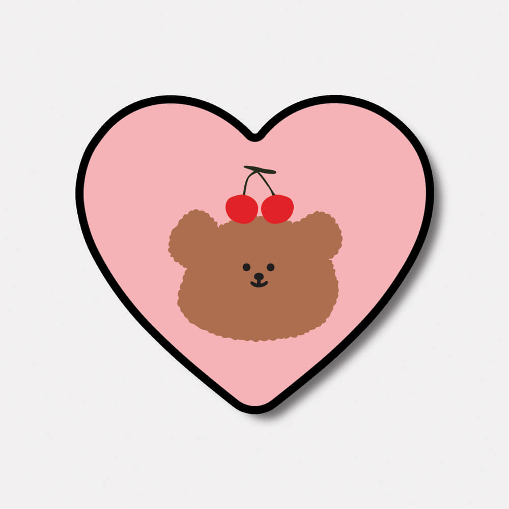 cherry slow bear 하트톡♥