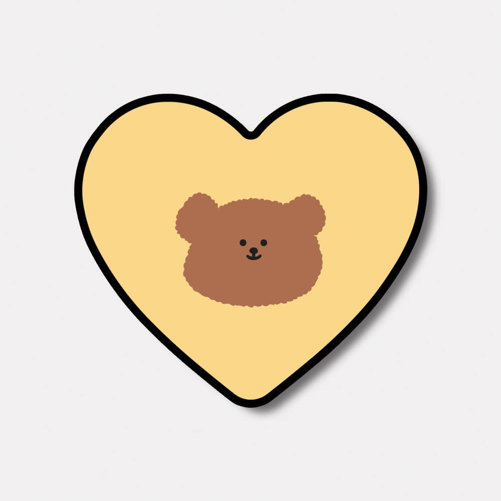 yellow slow bear 하트톡♥