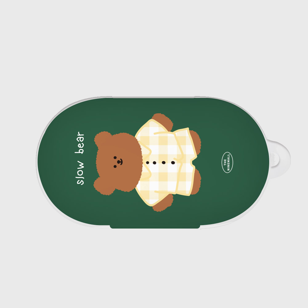 pajamas khaki slow bear [Buds case]