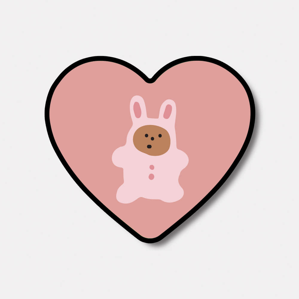 rabbit gummy 하트톡♥