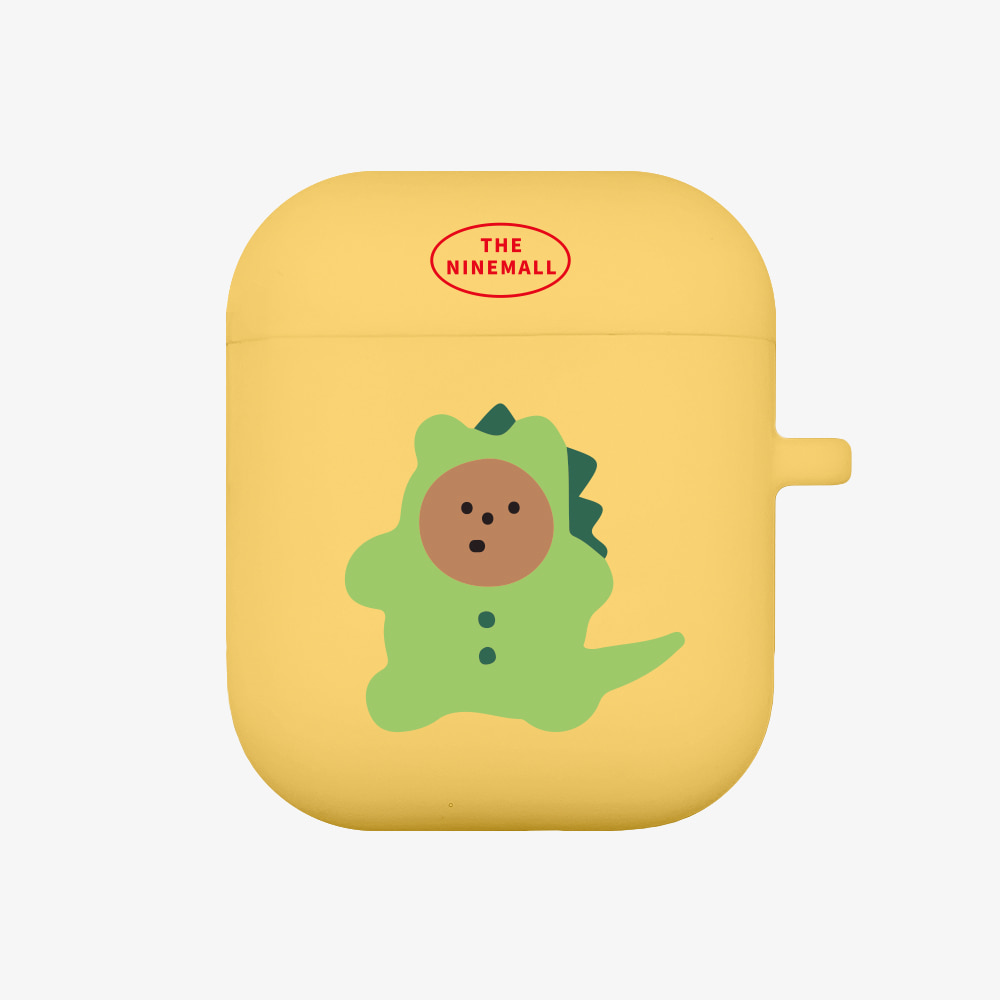 dinosaur gummy [Airpods case][yellow]