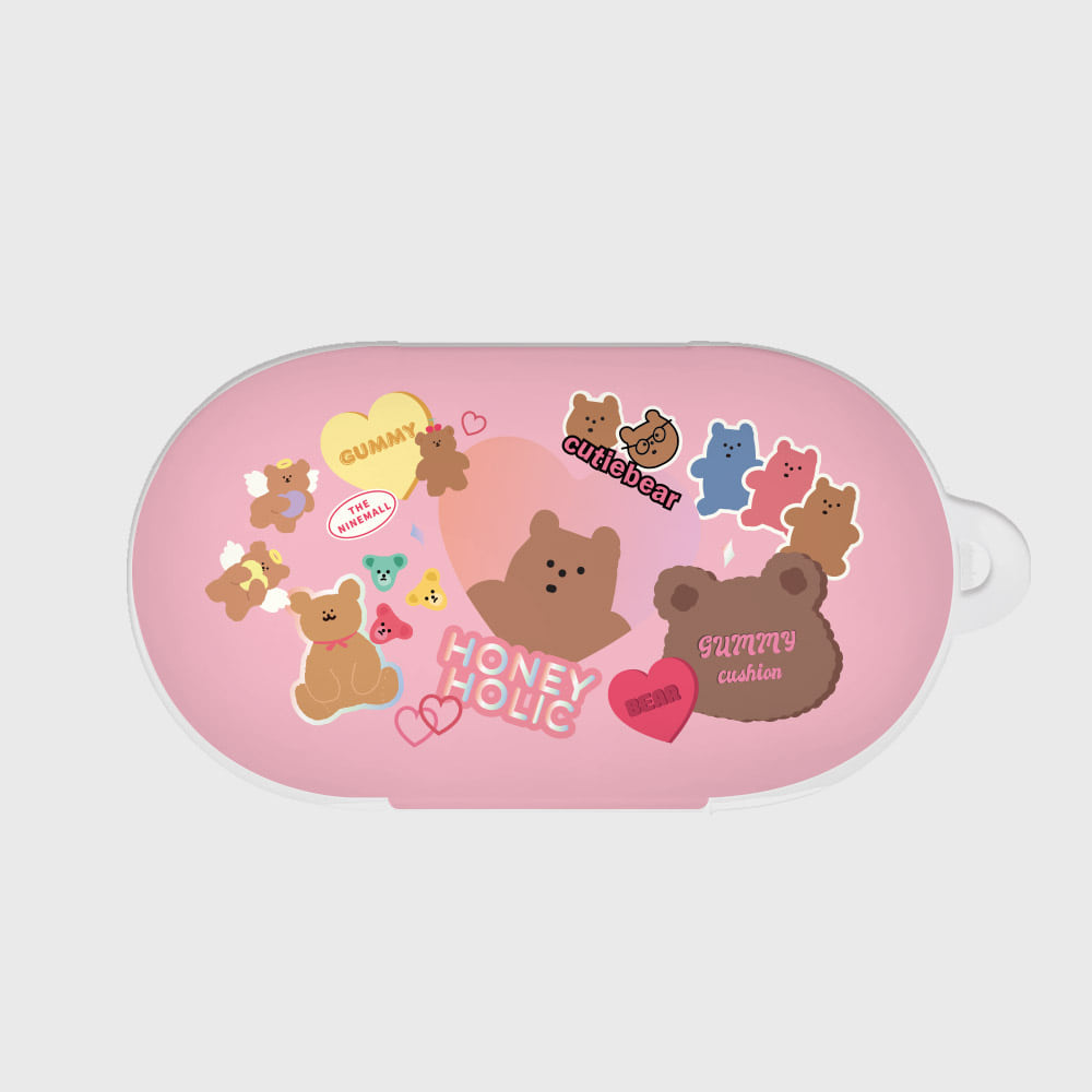 bear sticker pack [Buds case]