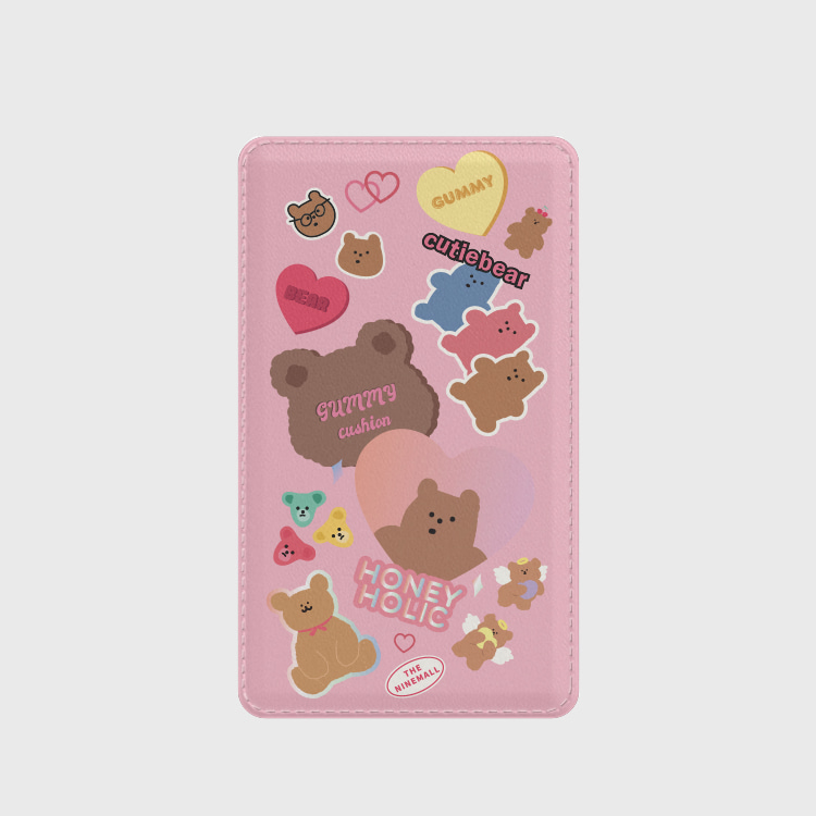 bear sticker pack 보조배터리