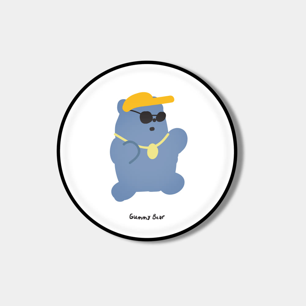 [Epoxy tok] hip hop gummy bear blue