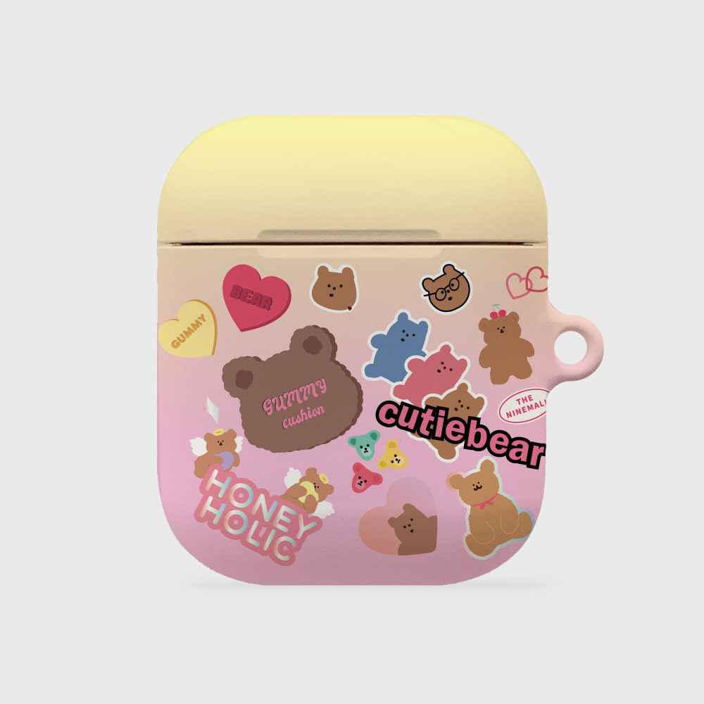 bear sticker pack [airpods hardcase]