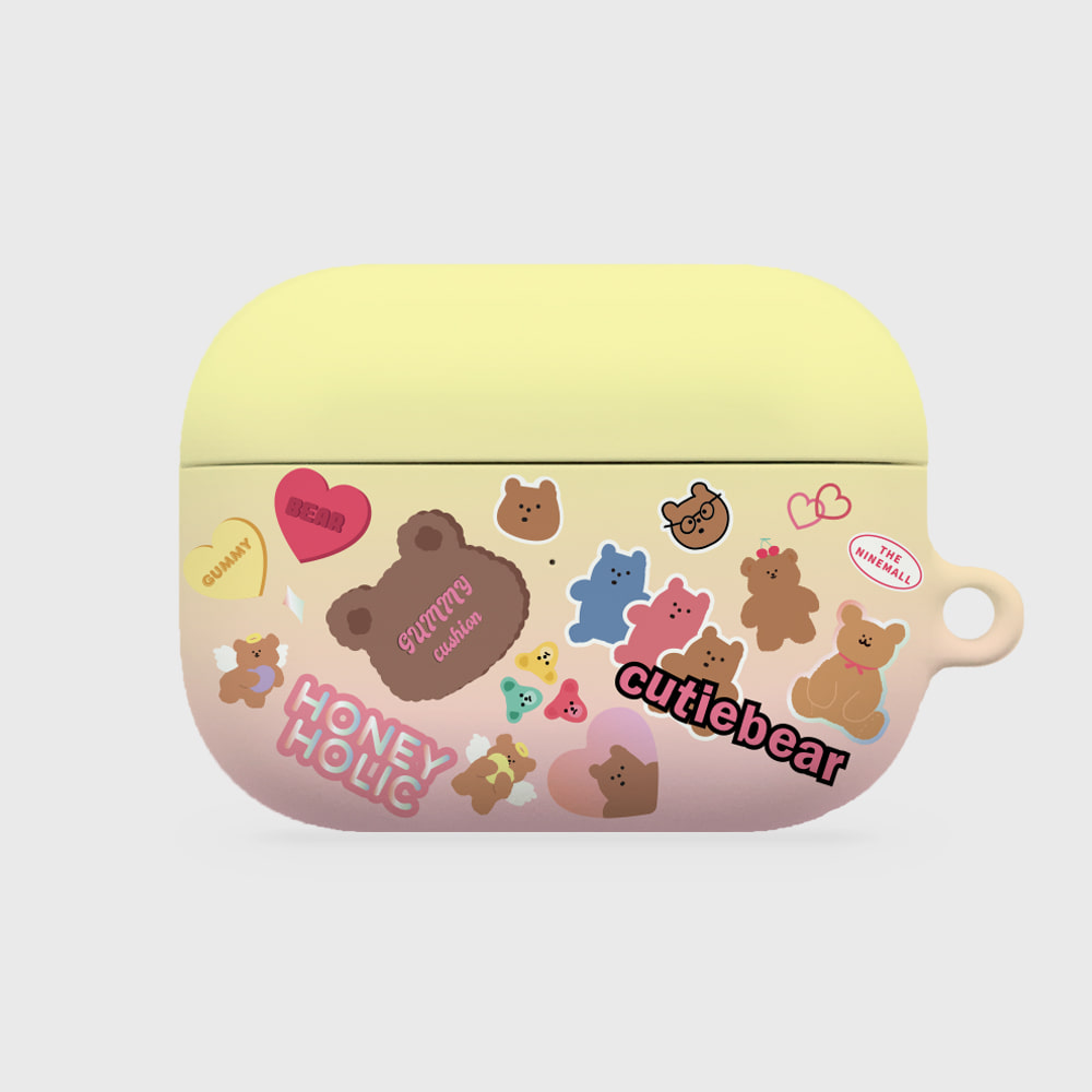bear sticker pack [airpods pro hardcase]