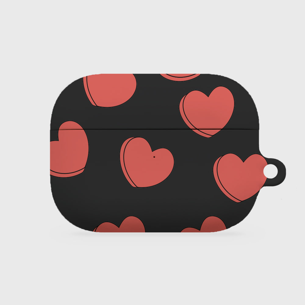 pour down love 블랙 [airpods pro hardcase]