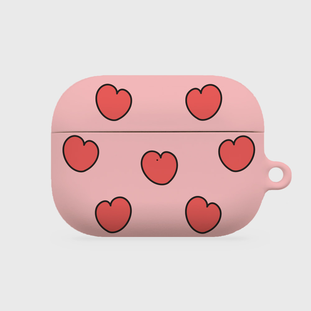 heart pattern [airpods pro hardcase]