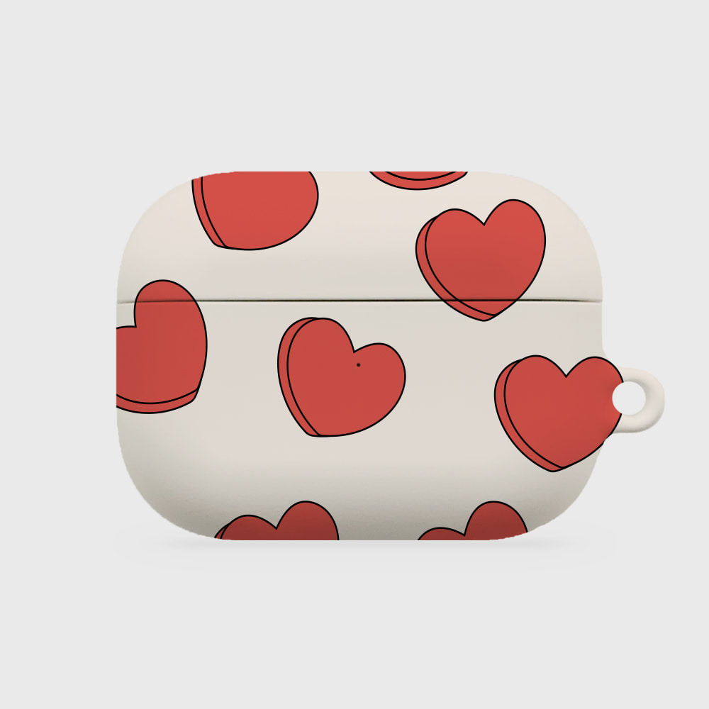 pour down love 베이지 [airpods pro hardcase]