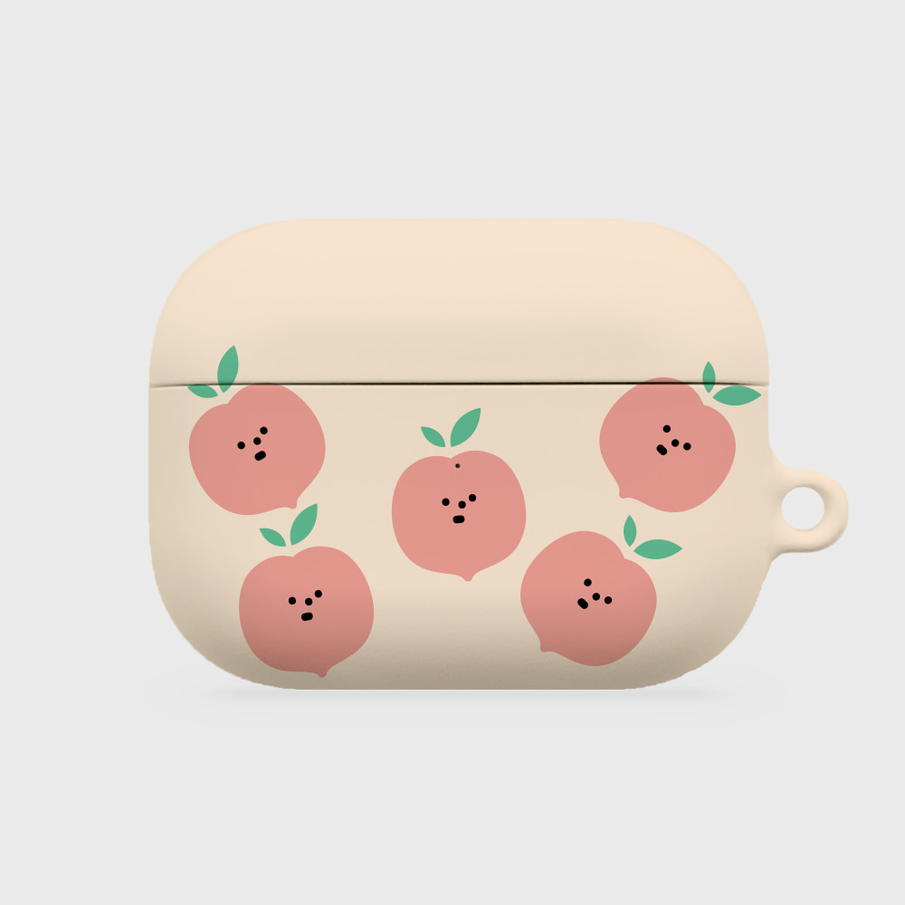 refreshing peach [airpods pro hardcase]