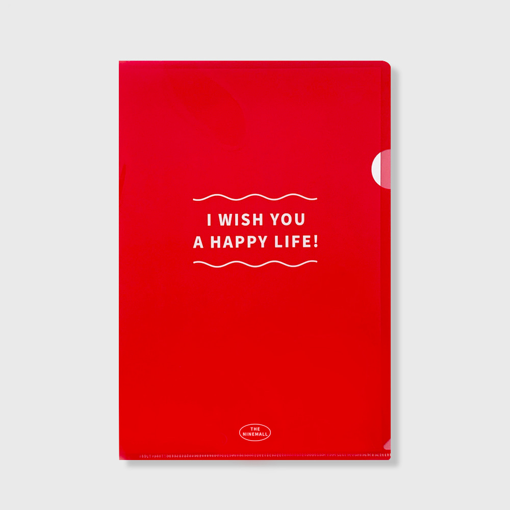 I WISH YOU A HAPPY LIFE file holder