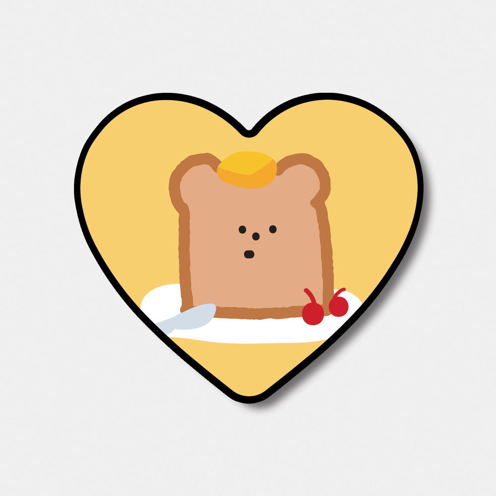 [heart tok♥] gummy toast