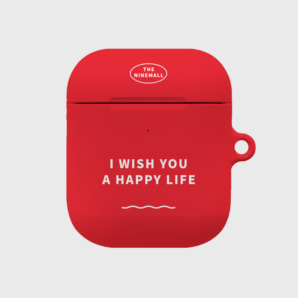 I WISH YOU A HAPPY LIFE [airpods hardcase]