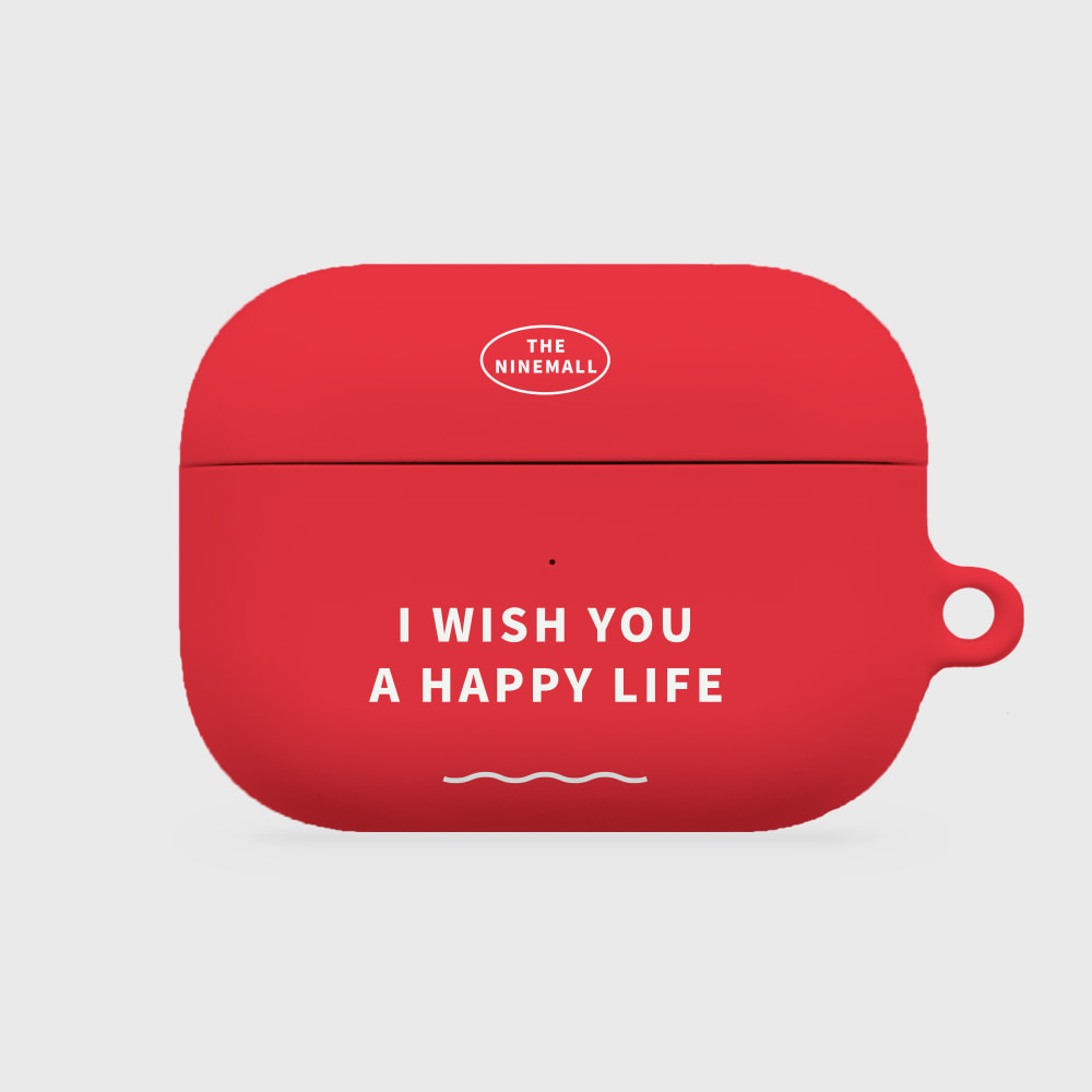 I WISH YOU A HAPPY LIFE [airpods pro hardcase]