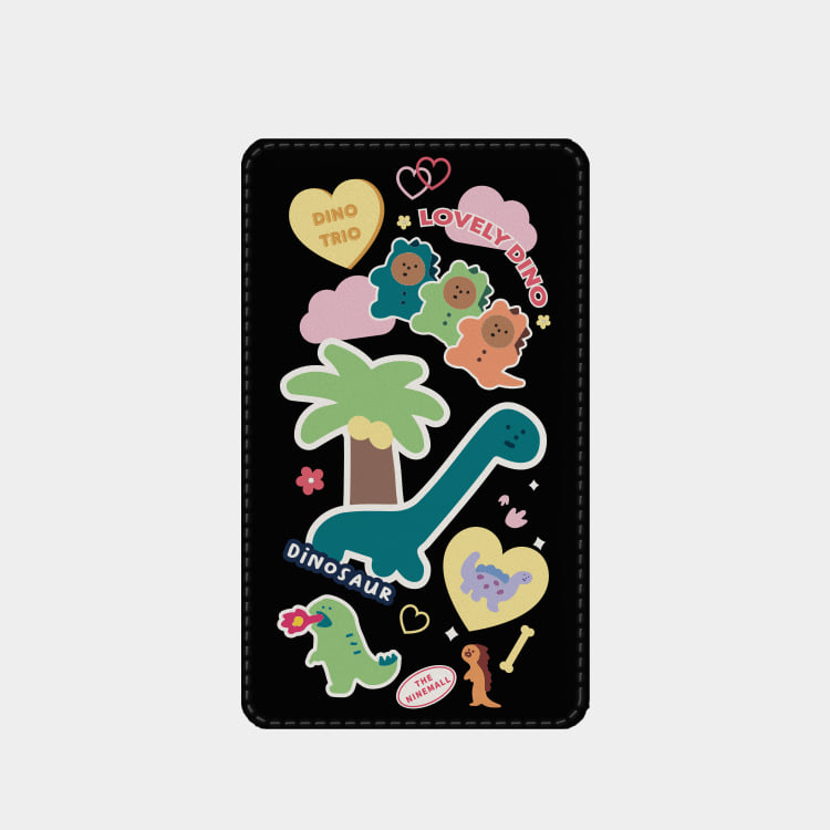 dino sticker pack 보조배터리