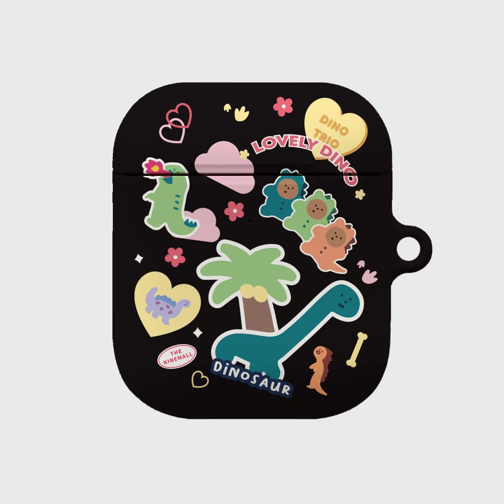 dino sticker pack [airpods hardcase]