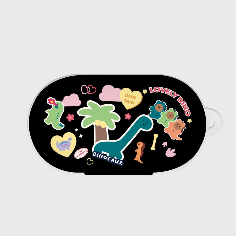 dino sticker pack [Buds case]