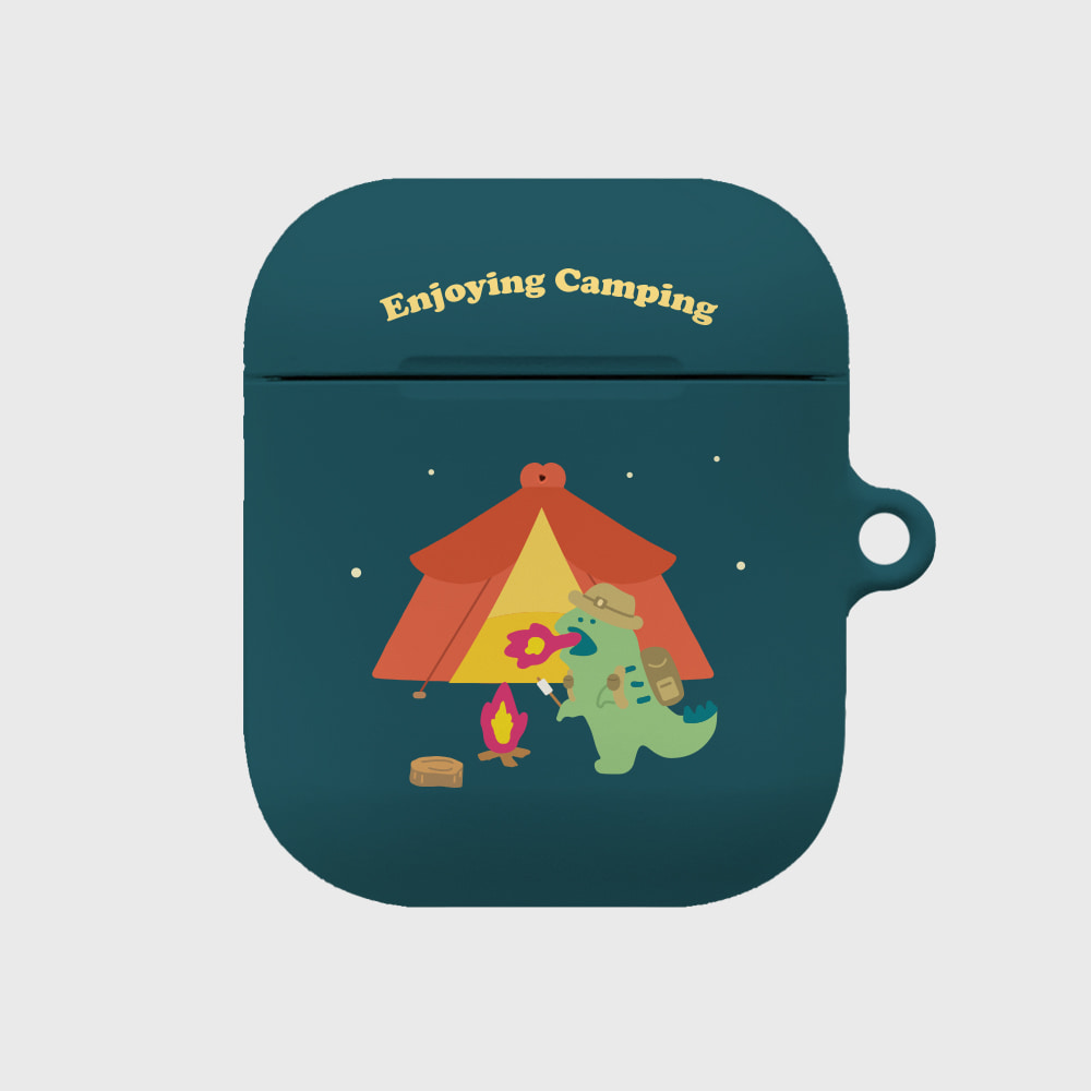 camping 랩터공룡 [airpods hardcase]