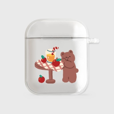 gummy apple juice [airpods clear hardcase]