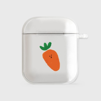 one carrot [airpods clear hardcase]