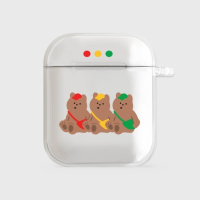 gummy traffic lights [airpods clear hardcase]