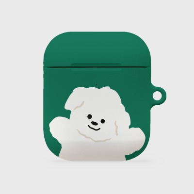 green 까꿍 뽀꾸 [airpods hardcase]