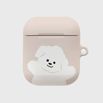 beige 까꿍 뽀꾸 [airpods hardcase]